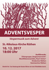Plakat Adventsvesper